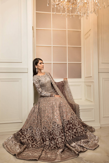 The current trend in bridal dresses in Pakistan