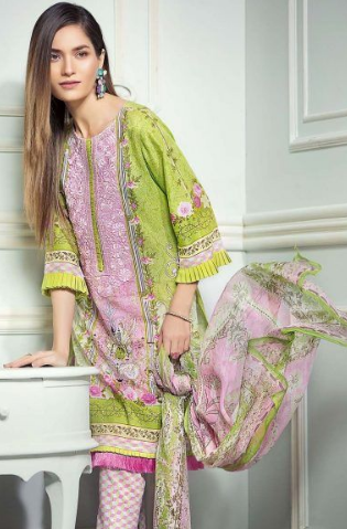 Spring Summer 2021 Lawn Suit Ideas for women
